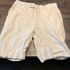 Perry Ellis Mens Khaki Shorts